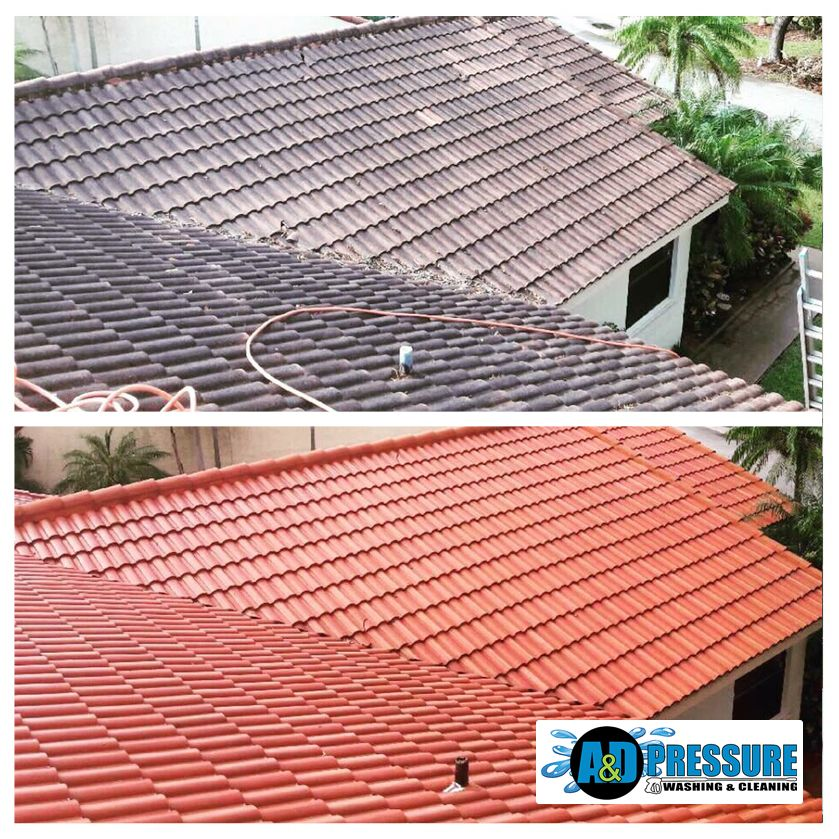 Visit us for Pressure Cleaning Services in Florida. Roof