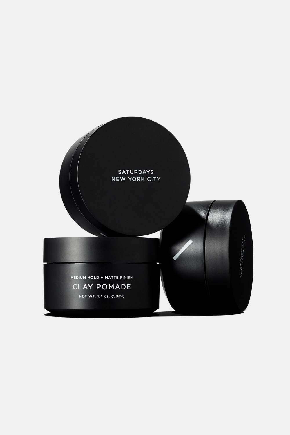 Clay Pomade Pomade Packaging Black Packaging Beauty Packaging