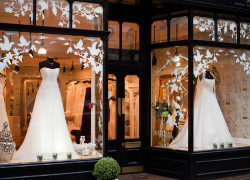 Just looking at this shop makes me want to go and choose a for Storing your wedding dress