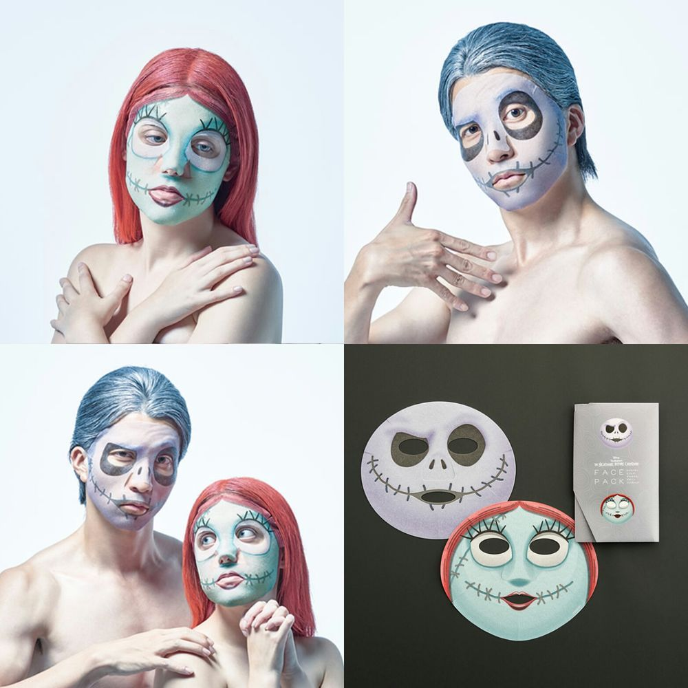 [Pre-order]一心堂本舖 Design Face Pack 傑克面膜及莎莉面膜 via Hoebuy. Click on the image to see more!