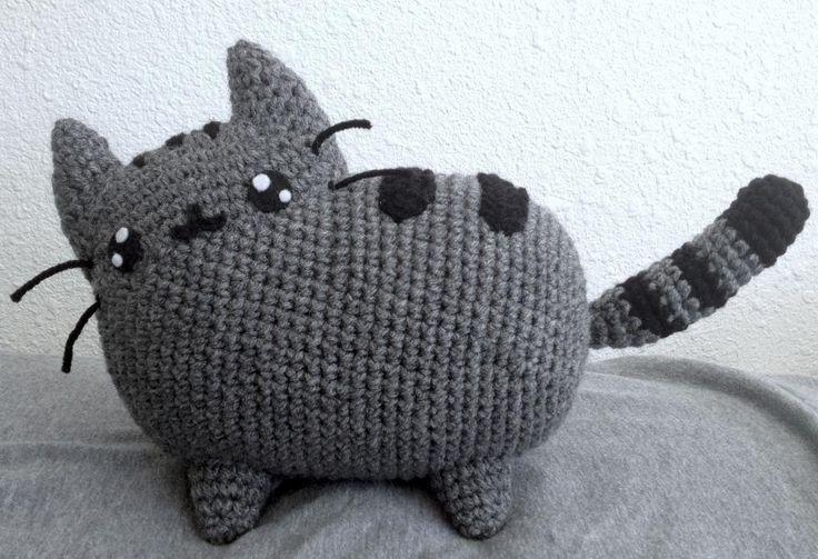 Pusheen Amigurumi Doll   Craftsy. #crochet #amigurumi #pusheen #cat ...