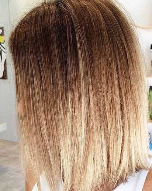20 Best Long Bob Ombre Hair Short Hairstyles 2015 2016 Most Popular Short Hairstyles For 2016 Haarfarben Bob Frisur Ombre Haare