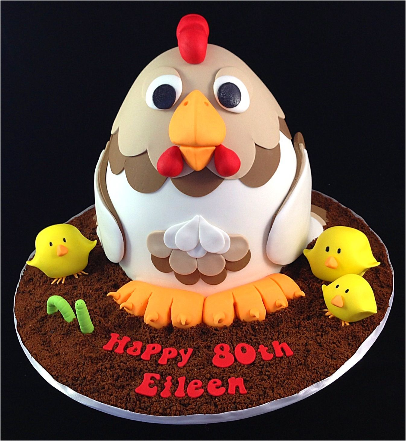 Super Birthday Cake Photos A Chicken Cake This Is Not My Original Personalised Birthday Cards Veneteletsinfo