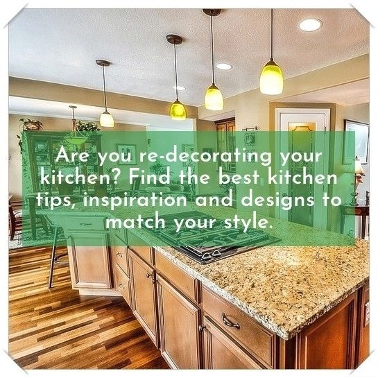Fun kitchen design tips Are you planning to spruce up your kitchen