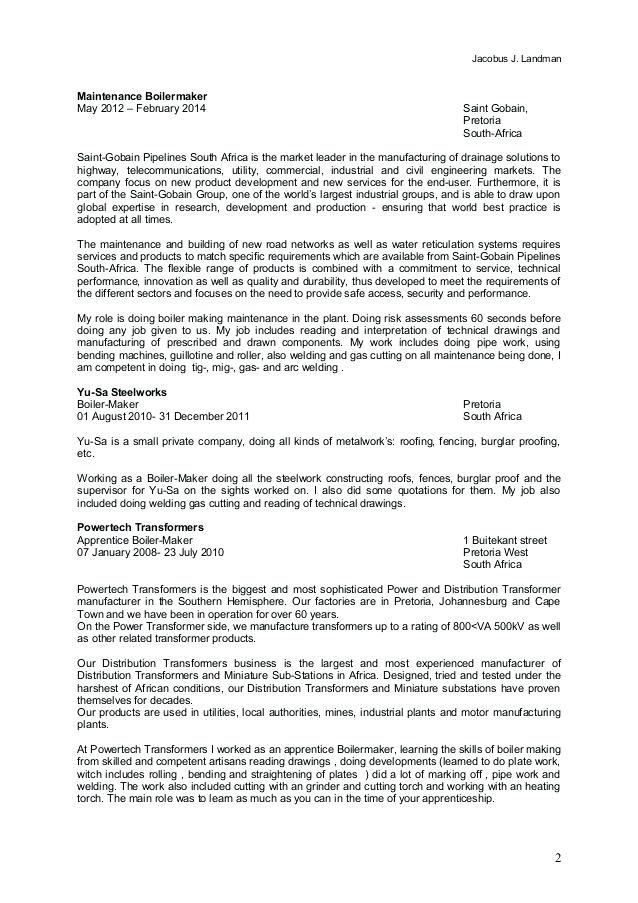 73 New Image Of Resume Sample for Welding Inspector (With