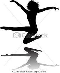 Výsledek obrázku pro silueta tanečnice
