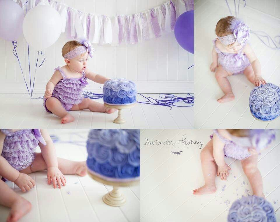 Lavender and honey photography #smashcake #amandalynneluxe #purple #photoprop #baby #photography #lavender #ombre #balloons #handmade #headband #singedsatin #flower #boutique #firstbirthday