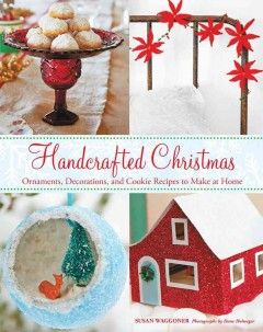 Collects step-by-step instructions for vintage-style crafts and cookie swap recipes inspired by Christmas traditions from the 1920s to the 1960s, including a pinecone wreath, Christmas stocking, and holiday charm bracelet.