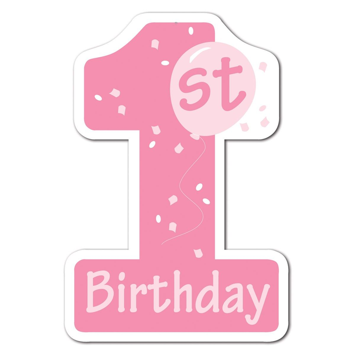 1st Birthday Clipart