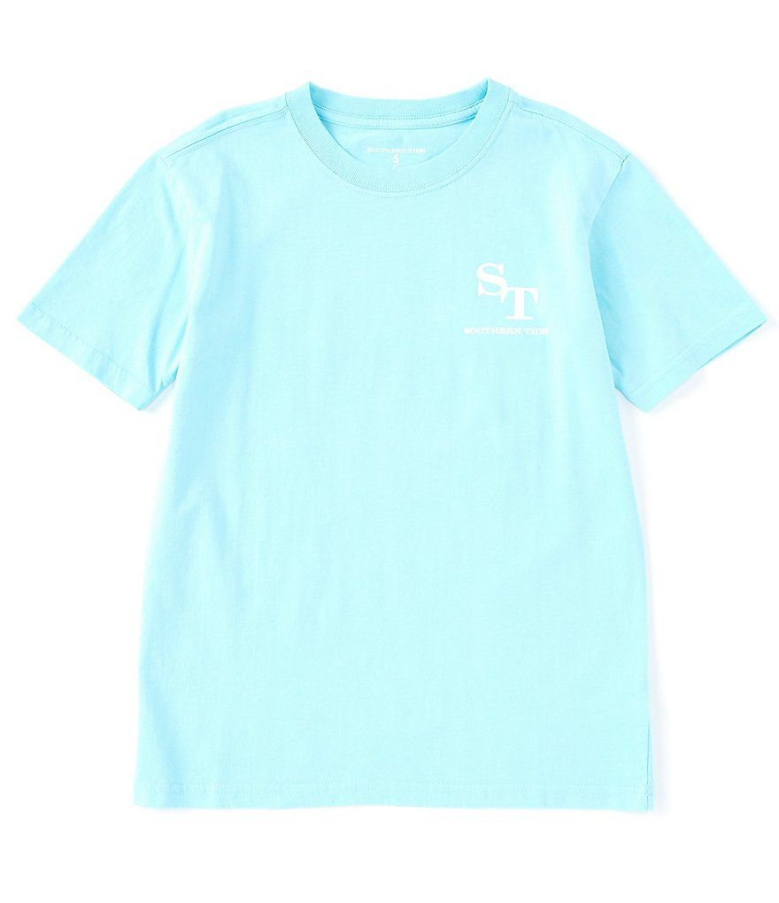 Southern Tide Little/Big Boys 4-16 Short-Sleeve Outline Skipjack Screen Print Tee Southern Tide Little/Big Boys 4-16 Short-Sleeve Outline Skipjack Screen Print Tee