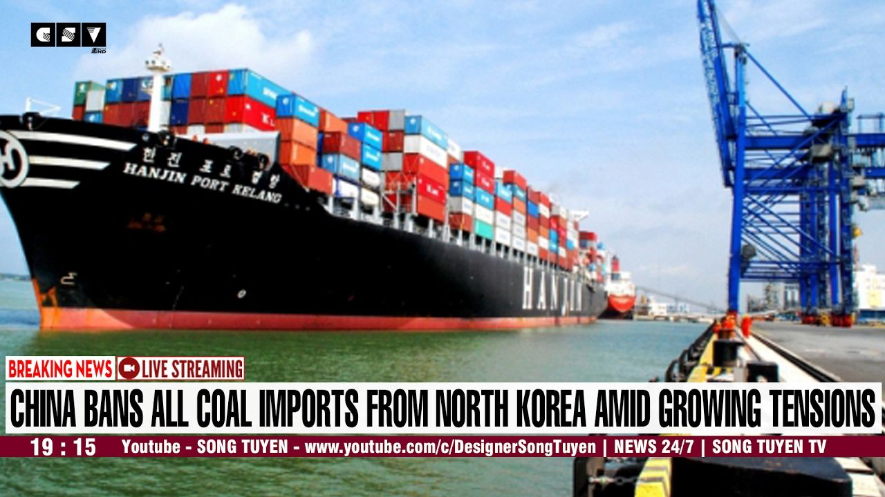 CNN BREAKING NEWS | China bans all coal imports from North