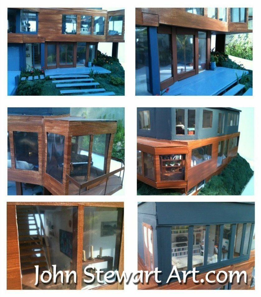 Twilight Cullen S House Scale Miniature By Johnstewartart Oh To Have