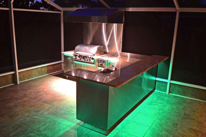Elegant 23 Outdoor Kitchen Ideas, BBQ, Grill U0026 Entertainment Area Designs