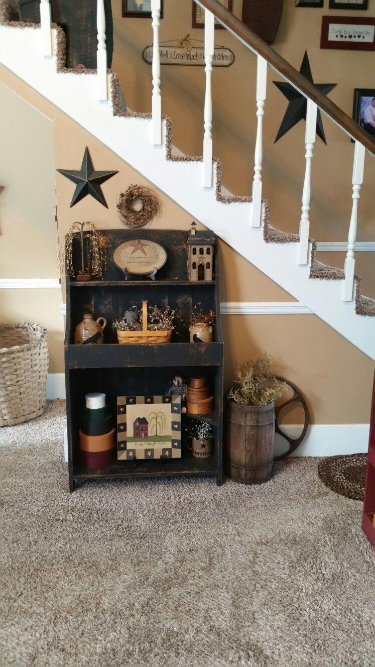 Primitive cupboard decor in pinterest home decor home