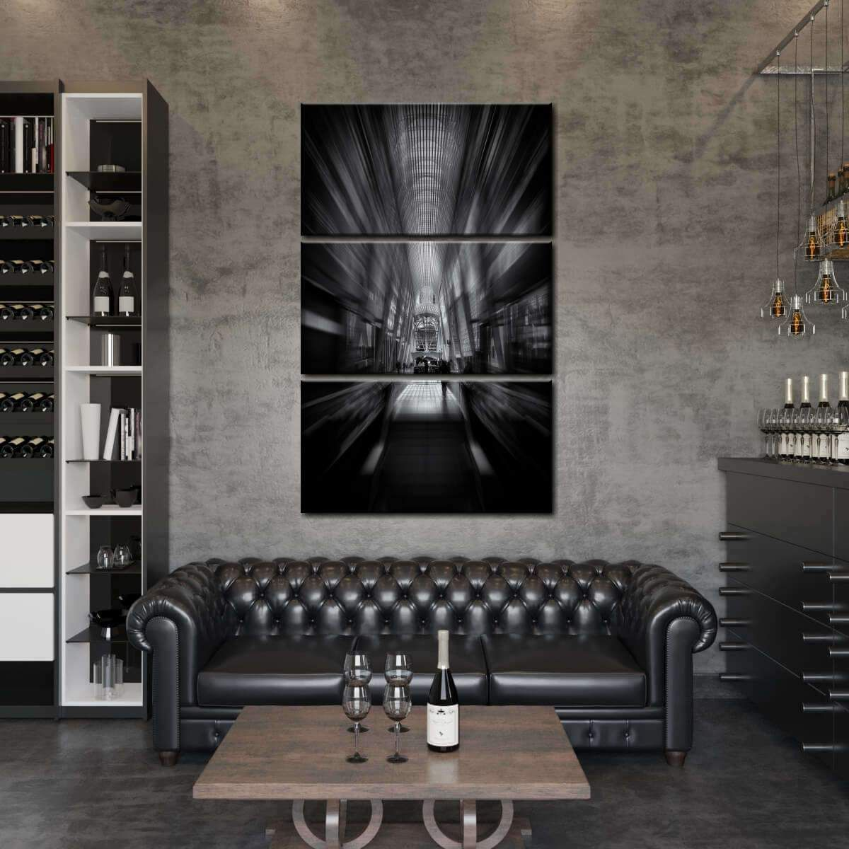 Allen Lambert Galleria Multi Panel Canvas Wall Art adds a contemporary touch to any room. Make your home lively and display stunning wall art of your favorite city.