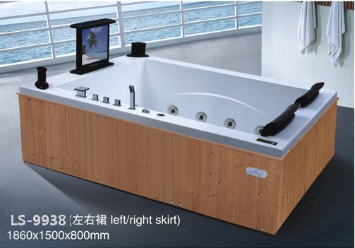 Spa Jacuzzi Whirlpool Bath Tub With Tv 1860x1500x800