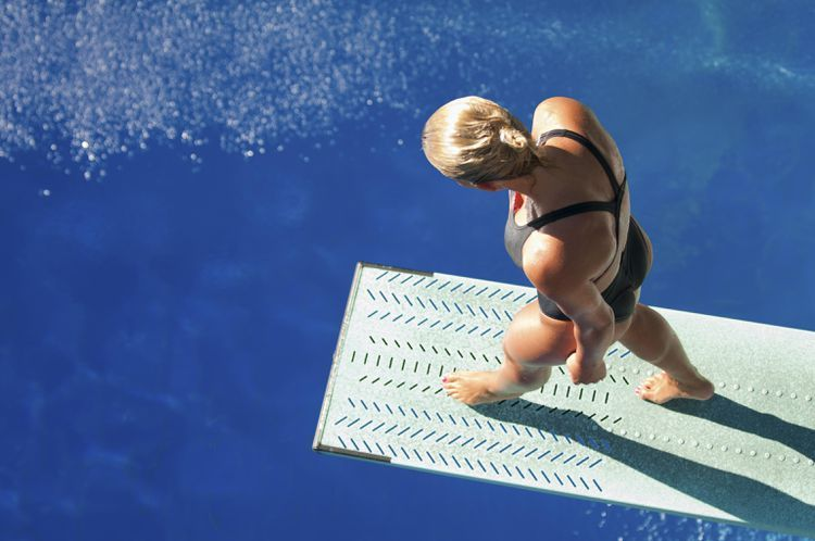 How Deep Must The Pool Be For Springboard And Platform Diving Olympic Diving Diving Pool High Diving