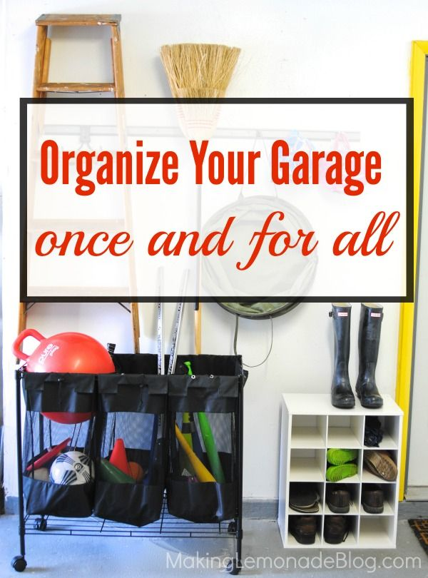 Organizing Your Garage Ideas Part - 39: Great Tips And Ideas For Organizing Your Garage Once And For All-- Storage  Ideas