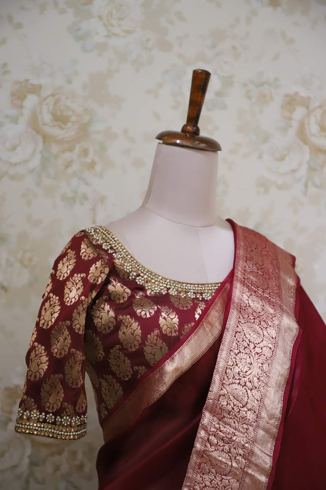 Pin by Rajani on Designer blouses in 2020 High low gown