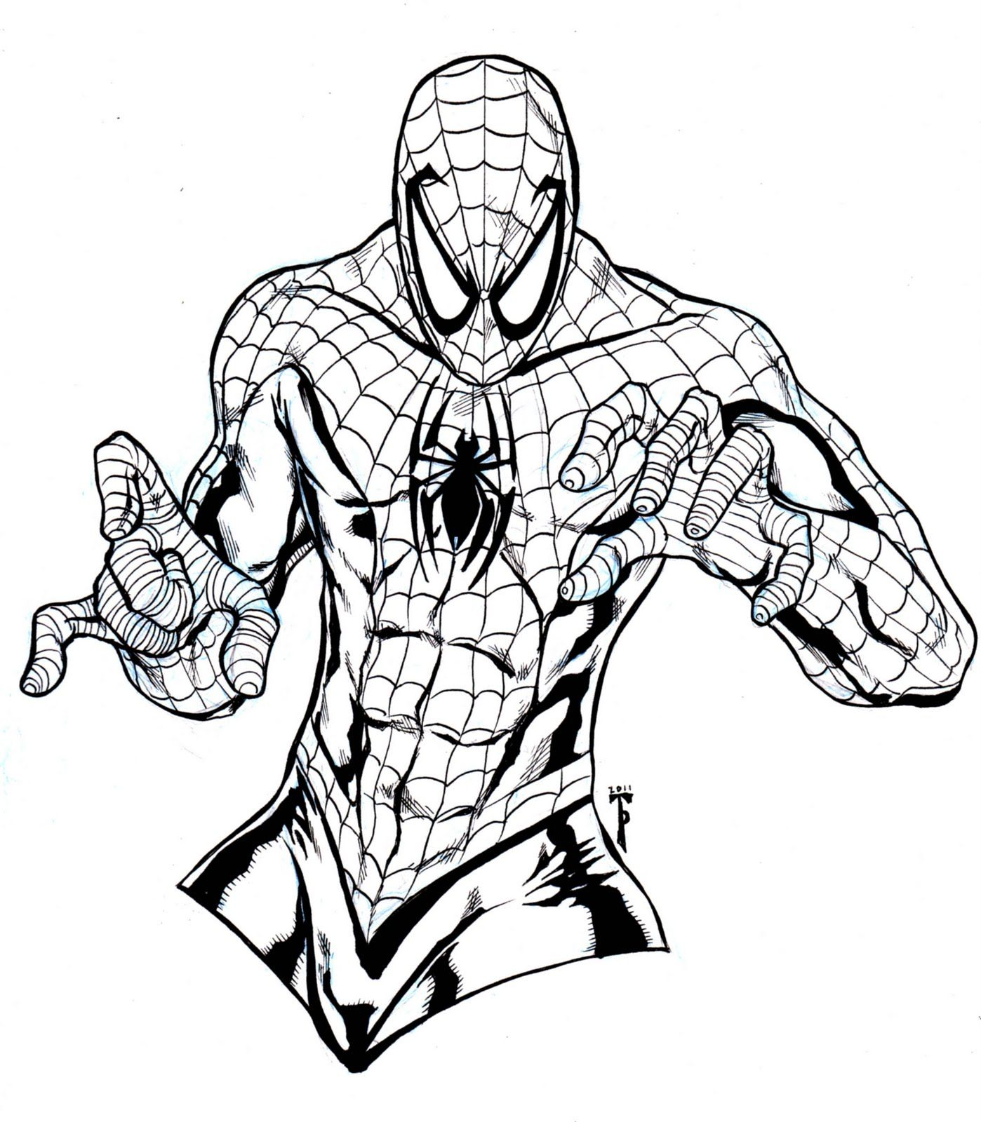 spectacular spiderman coloring pagesjpg 13981600