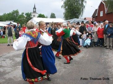 Kofest, dans. Dala Floda, Dalarna. | Textiler, Folk