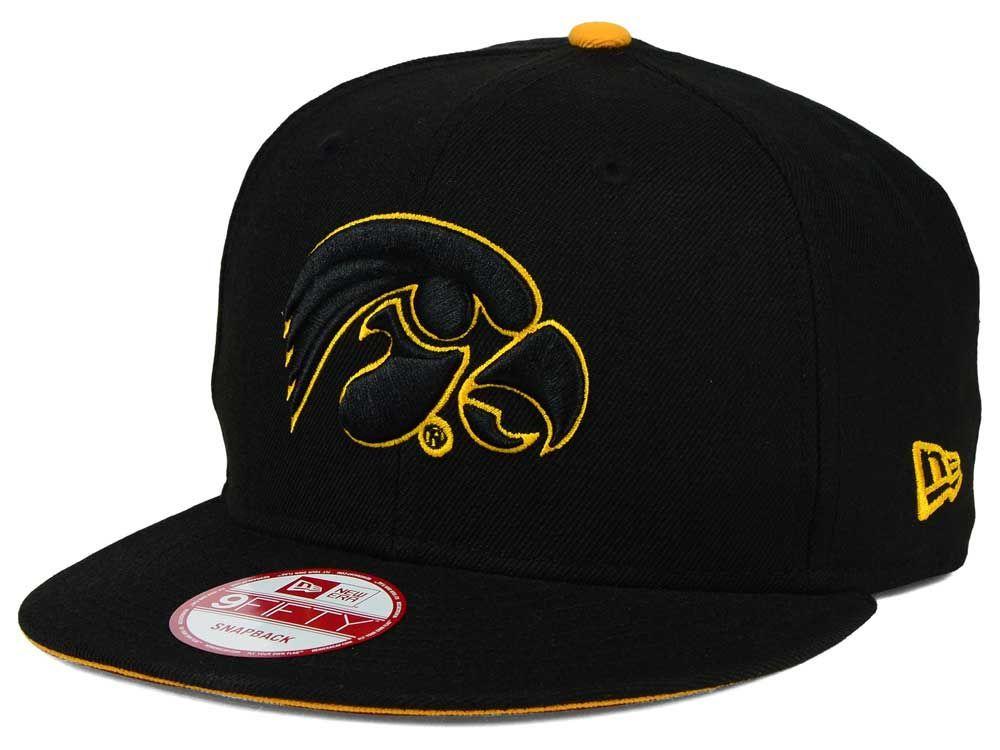 buy online e522e 3f574 Iowa Hawkeyes New Era NCAA Core 9FIFTY Snapback Cap