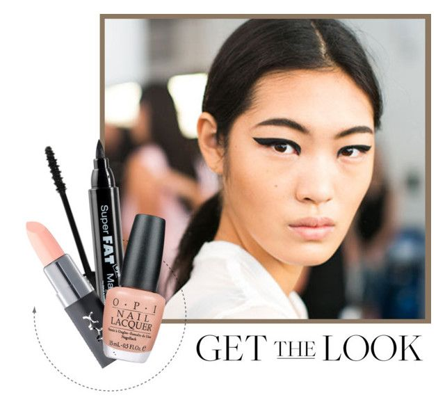 """""""Get the Look: Bold Eyes, Pale Lips"""" by chrissykp ❤ liked on Polyvore featuring beauty, Revlon, NYX, OPI, GetTheLook, palelips and boldeyes"""