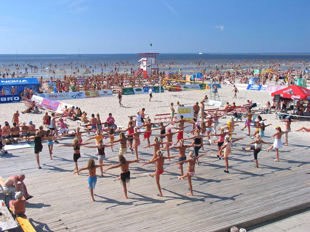 Pärnu Resort Is Estonia S Summer Capital And A Local Hub For Beach Youthful Nightlife Edgy Art Parnu Travel Travelinbaltics