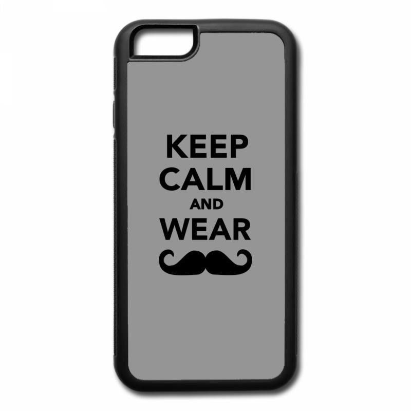 keep calm and wear mustache (2) iPhone 7 Plus Case