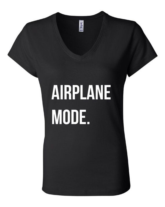 Sleeping on planes and running on coffee? Us too. Meet our Jetset Tee, perfect airport cliche for anytime you fly - or just want to be left alone. Airplane mode.