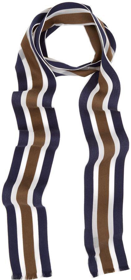 Pin for Later: Die wilden Siebziger sind zurück! Dünne Schals Aquascutum gestreifter Schal (120,63€)