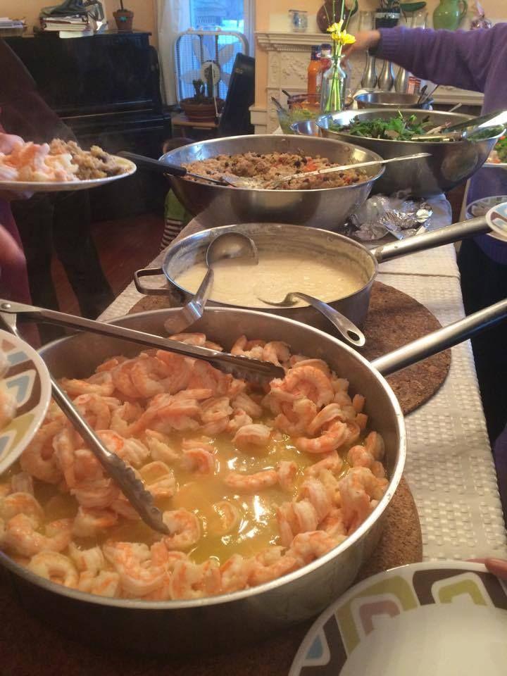 Community Dinner at Fellside