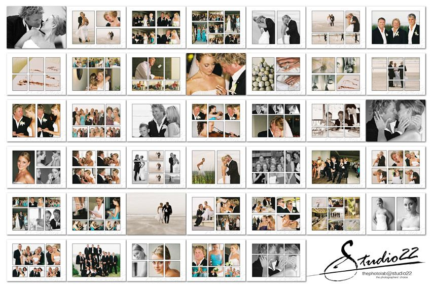 wedding photo book layout ideas - Picture Ideas References