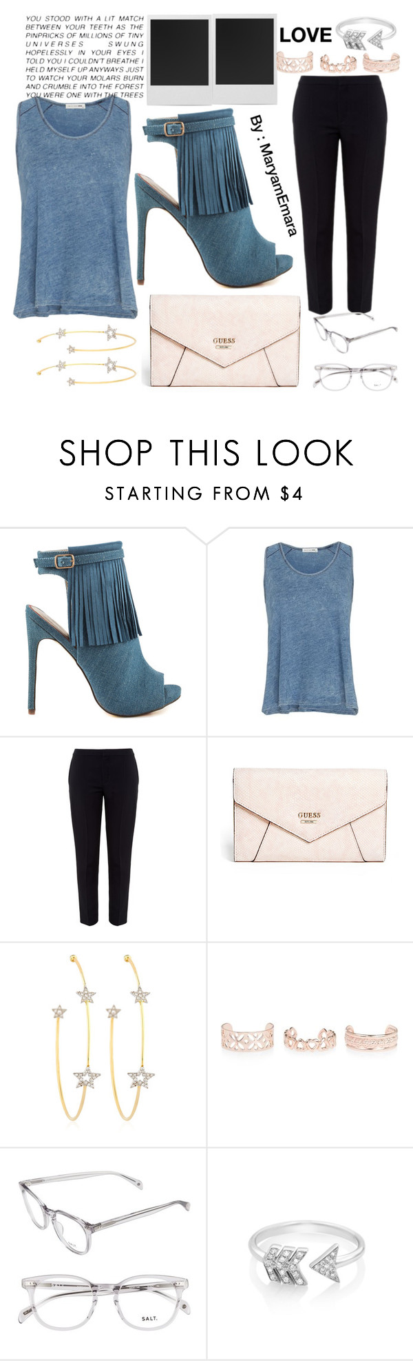 """Casual"" by maryamemara ❤ liked on Polyvore featuring Luichiny, rag & bone, Chloé, GUESS, PERLOTA, Polaroid, New Look and EF Collection"