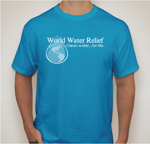 We have 66 of our goal of 100 tee shirts sold to be able to provide our Youth Water Clubs with the same shirts!  Thanks!