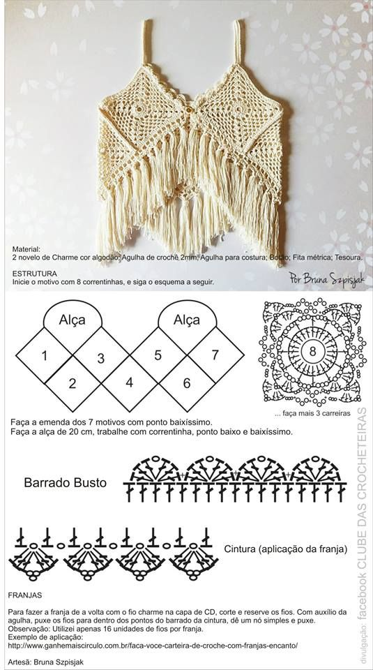 www.fhinotrico.blogspot.com | ☺1 | Pinterest | Croché, Ganchillo y ...