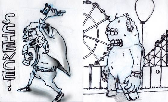 more work doodles