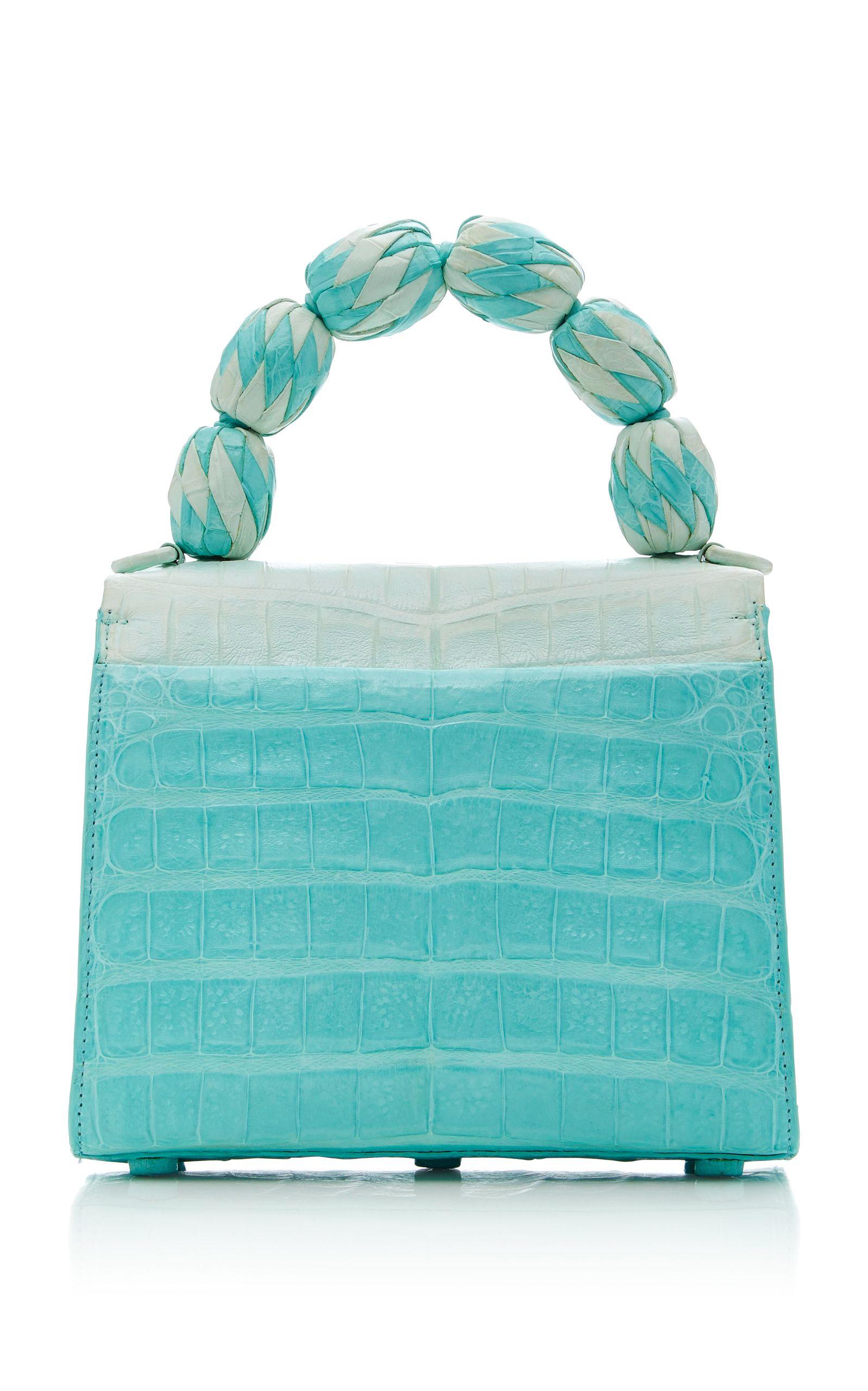 Borse Lilly Di Handle Fiesta M'o Crocodile Exclusive Bag Small pU0ffx