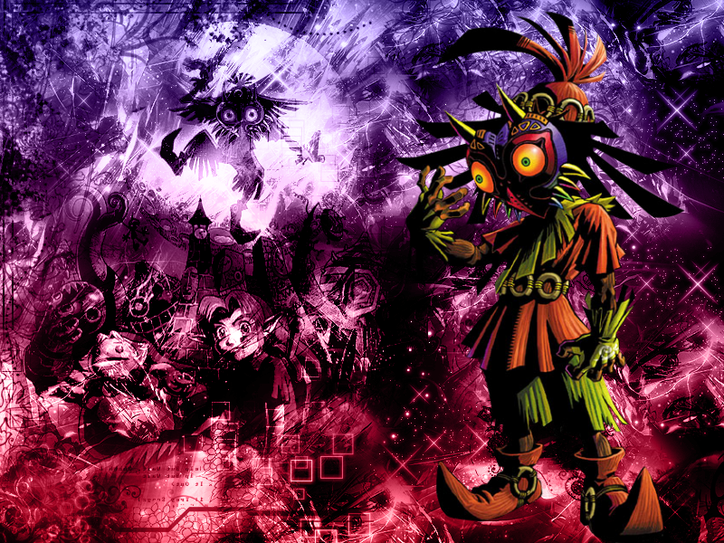 Majoras Mask Skull Kid Wallpaper