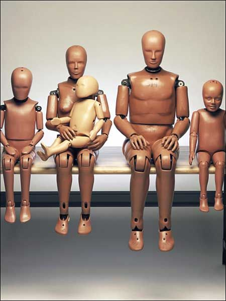 original crash test dummies from the 50s they 39 ve held up well after all those accidents. Black Bedroom Furniture Sets. Home Design Ideas