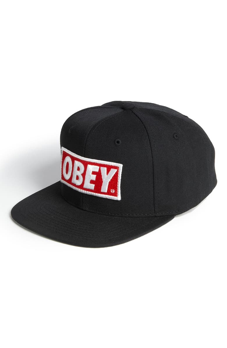 Obey Original Snapback Hat Nordstrom Snapback Hats Hats Snapback