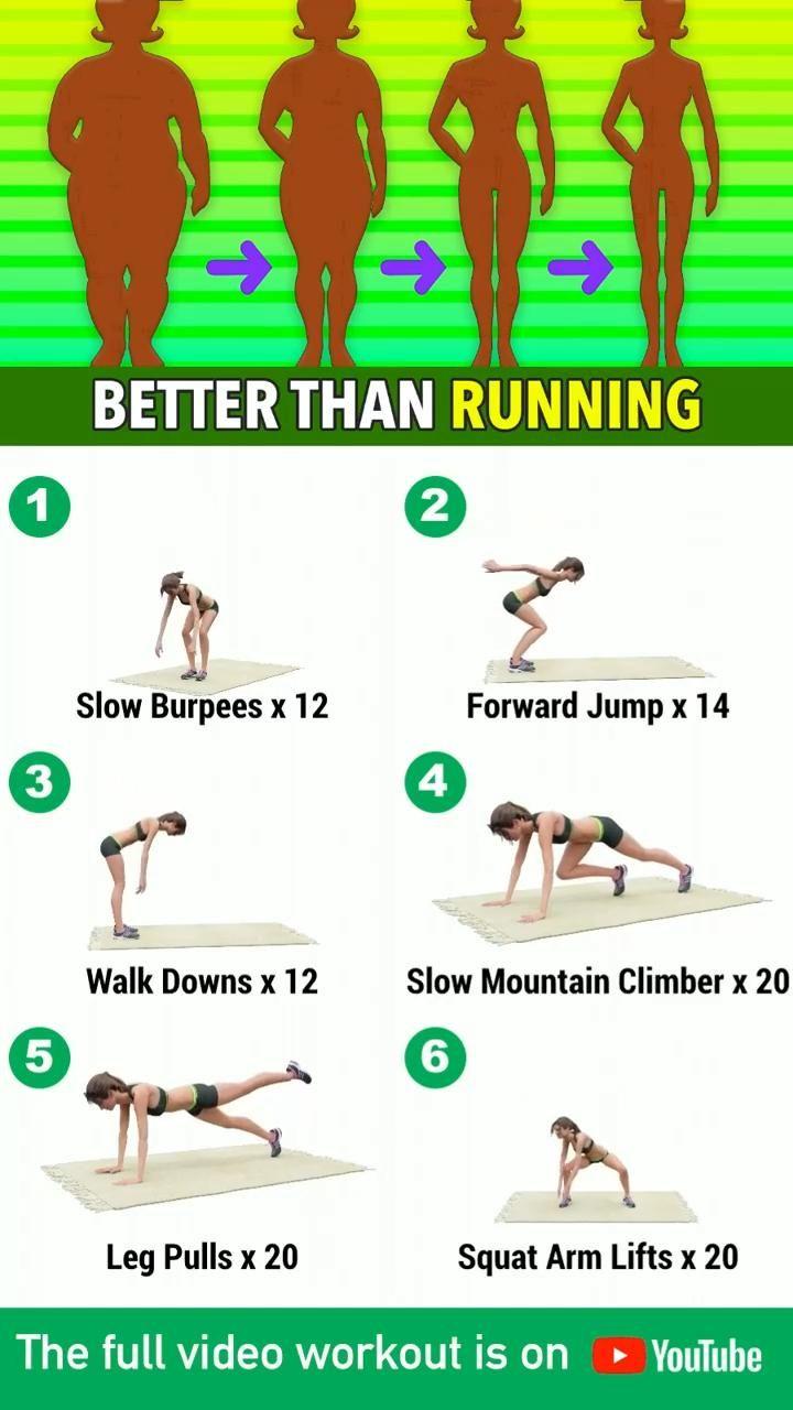 Better than running