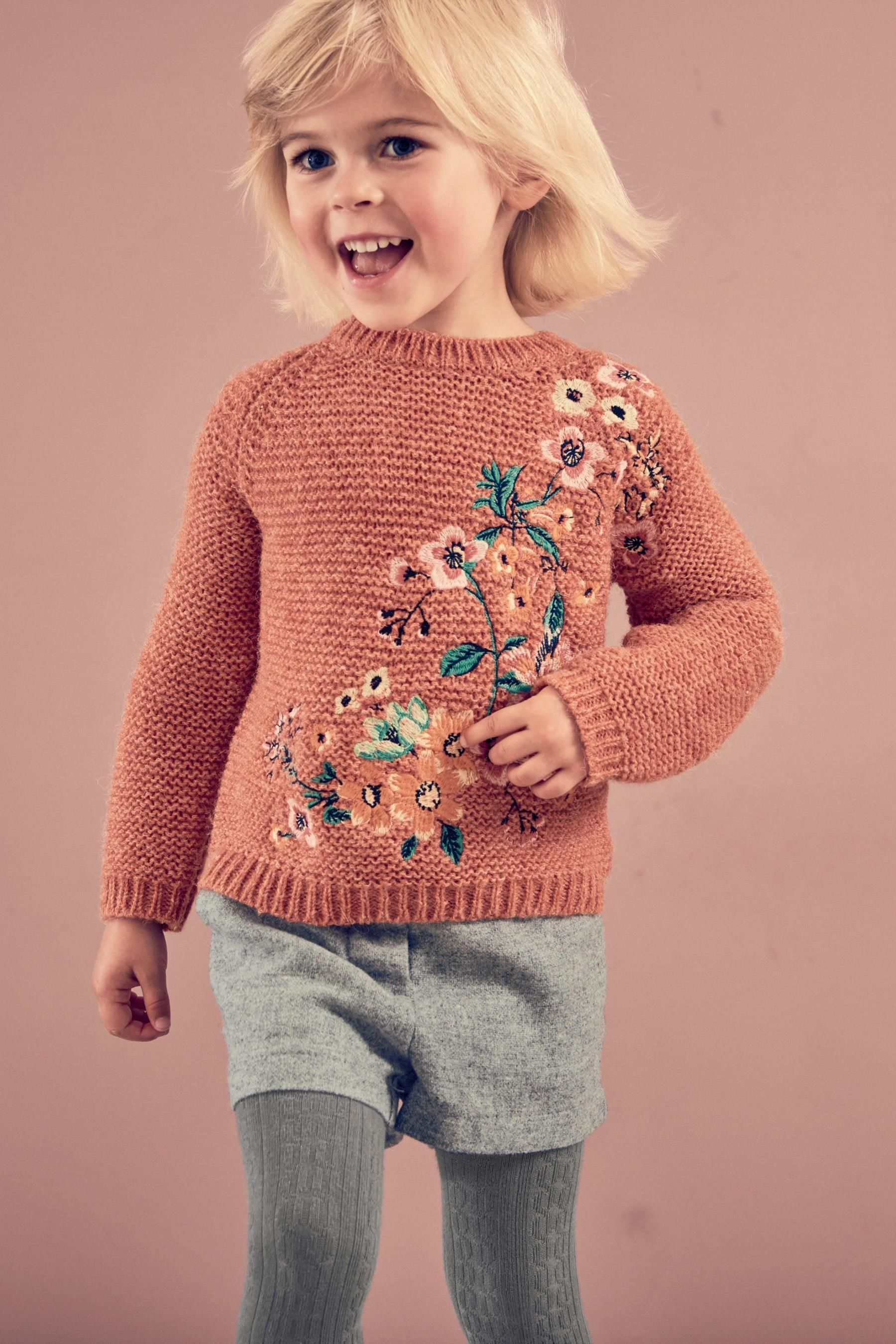 buy rust floral jumper 3mths 6yrs from the next uk. Black Bedroom Furniture Sets. Home Design Ideas