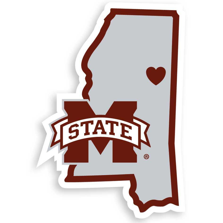 Mississippi State Bulldogs Decal Sticker