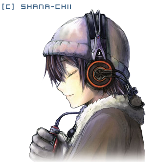 Anime Boy Listening To Music (con imágenes) Anime