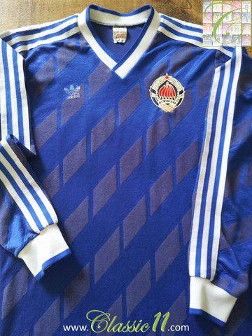Relive Yugoslavia s 1987 1988 international season with this vintage Adidas  home long sleeve football shirt. 504efb50a