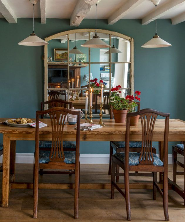 Take a tour around this eclectic Arts and Crafts cottage in Surrey