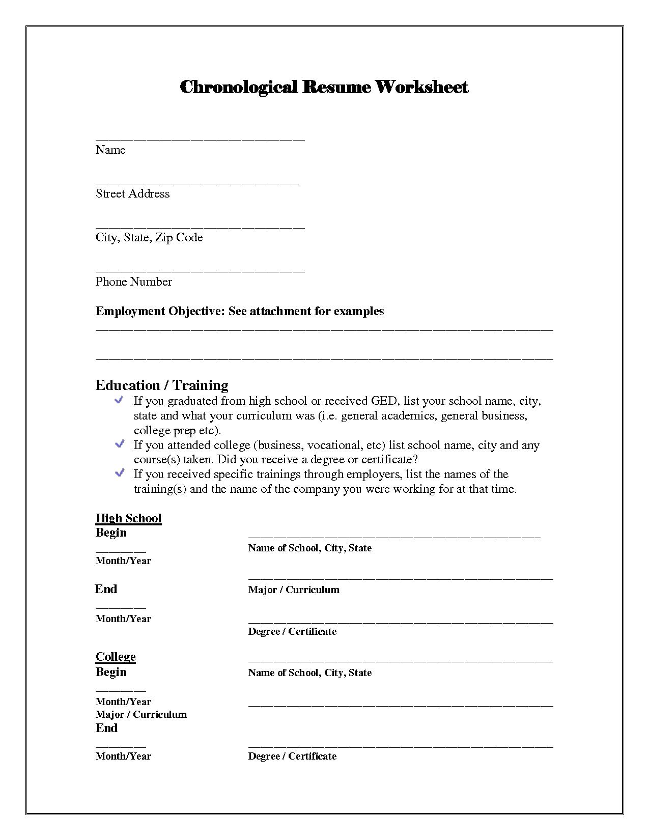 13 Best Images Of Simple Resume Worksheet College Brag Sheet Template Image Result For Resume Template Resume Simple Resume Basic Resume
