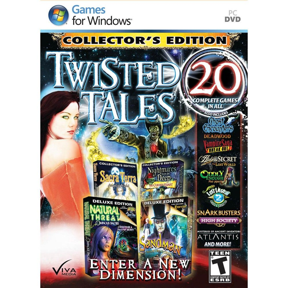 Mystery Masters Twisted Tales PC Games Mystery, Games