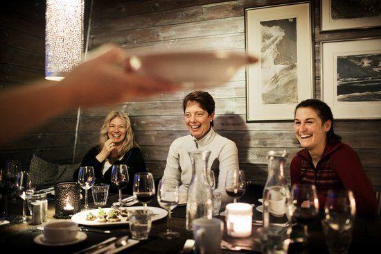 at the dinner - - Svalbard, Noruega, Euopa
